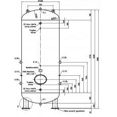 DB VZ 5000/11 V Druckluftbehälter Art.-Nr. 2500730-2500730-20