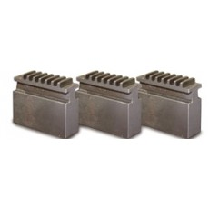 Blockbackensatz weich für Dreibackendrehfutter Ø 125 mm Blockbacken für Drehfutter Art.-Nr. 3442906-3442906-20