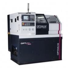 OPTIturn L 28HS CNC gesteuerte Flachbett Drehmaschine Optimum 3504215 L28HS-3504215-20