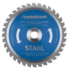 """Sägeblatt 180mm 7"""" Stahl Z36 Metallkraft 3850181-3850181-20"""