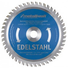 """Sägeblatt 180mm 7"""" Edelst. Z48 Metallkraft 350183-3850183-20"""