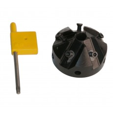 Fräskopf 45° KE 10 Pos. 50A / tool holder 45°-3991101-20