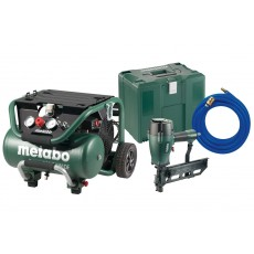 Metabo Kompressor Power 400-20 W OF + Klammergerät DKG 114-65 Set 690892000-690892000-20