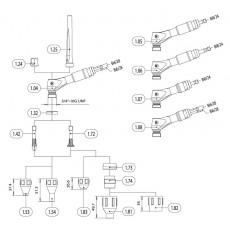 Brenner R-TIG 12-450W 8mUpDown Highflex ISystem-1465458-20