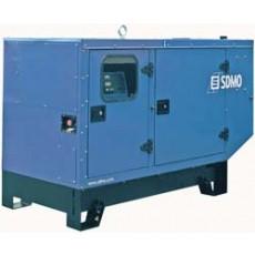 SDMO Stromerzeuger J 22 schallisoliert 22 kVA John Deere Motor mit Zusatzausstattung / Automatikpaket etc-j22schalliso-20
