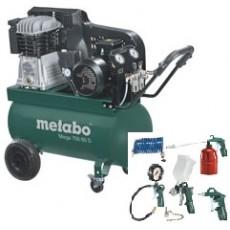 Metabo Kompressor Mega 700 90 D 60154200 Sonderaktion inkl. LPZ 7 Zubehör-Set-60154200-20