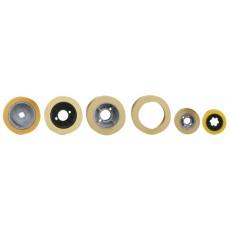 Vorschubrolle ø120x60x12 RO120 / rubber tire Holzkraft 5114061-5114061-20