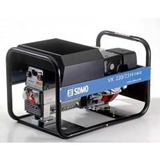 SDMO Schweissaggregat VX 220 / 7,5 H Benzin Schweissstromerzeuger 230/400 V-VX 220 7,5 H-20