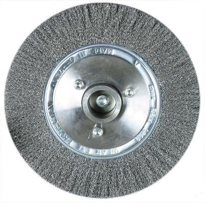 Rundbürste 250 x 30 mm Draht-Ø 0,2 mm für Stahl Metallkraft 3730260